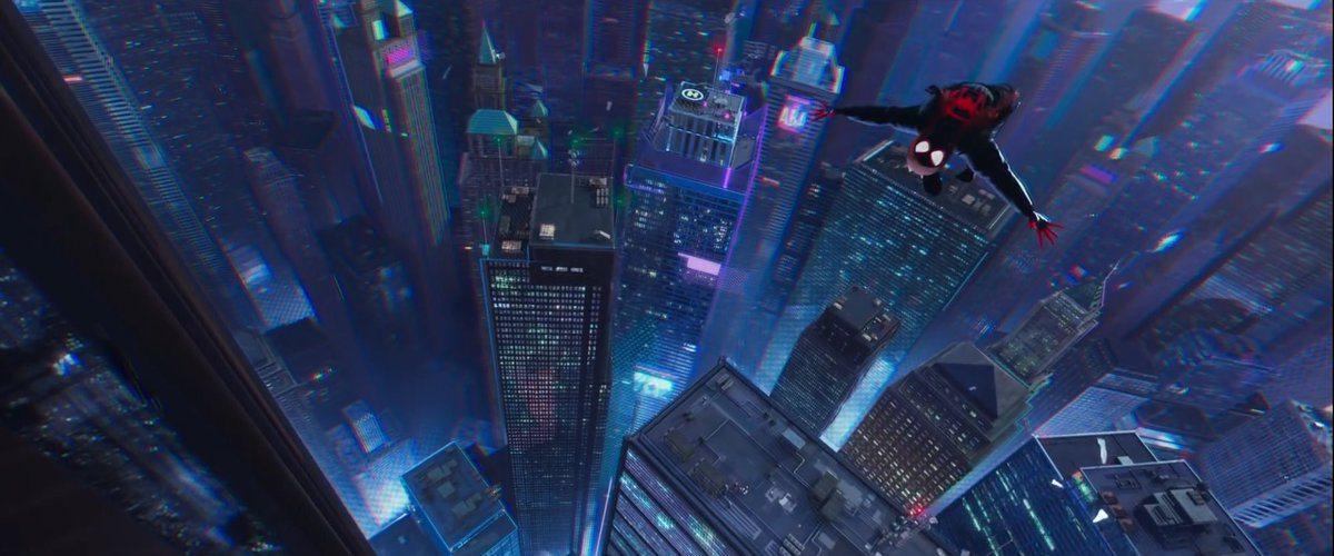 Película de Animación 3D Spiderman, Un Nuevo Universo