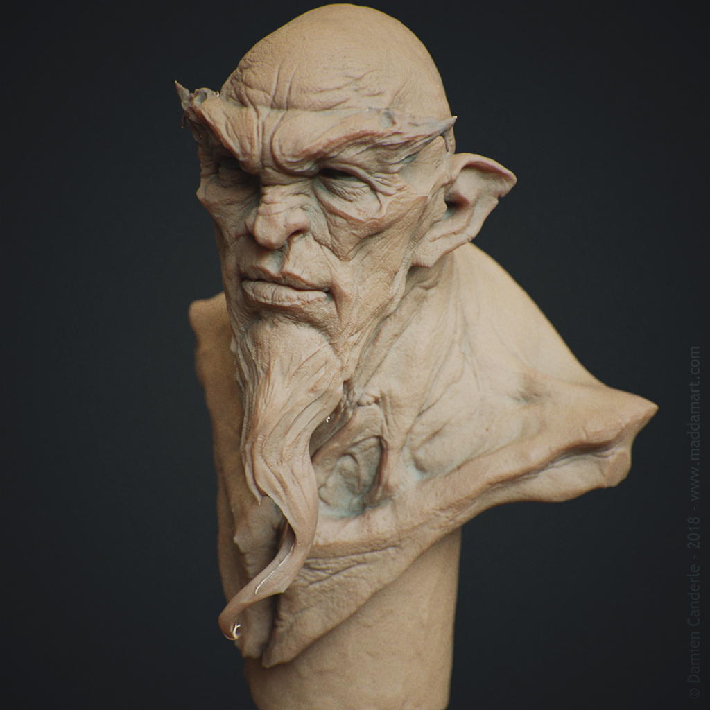 escultura digital 3d damien_canderle
