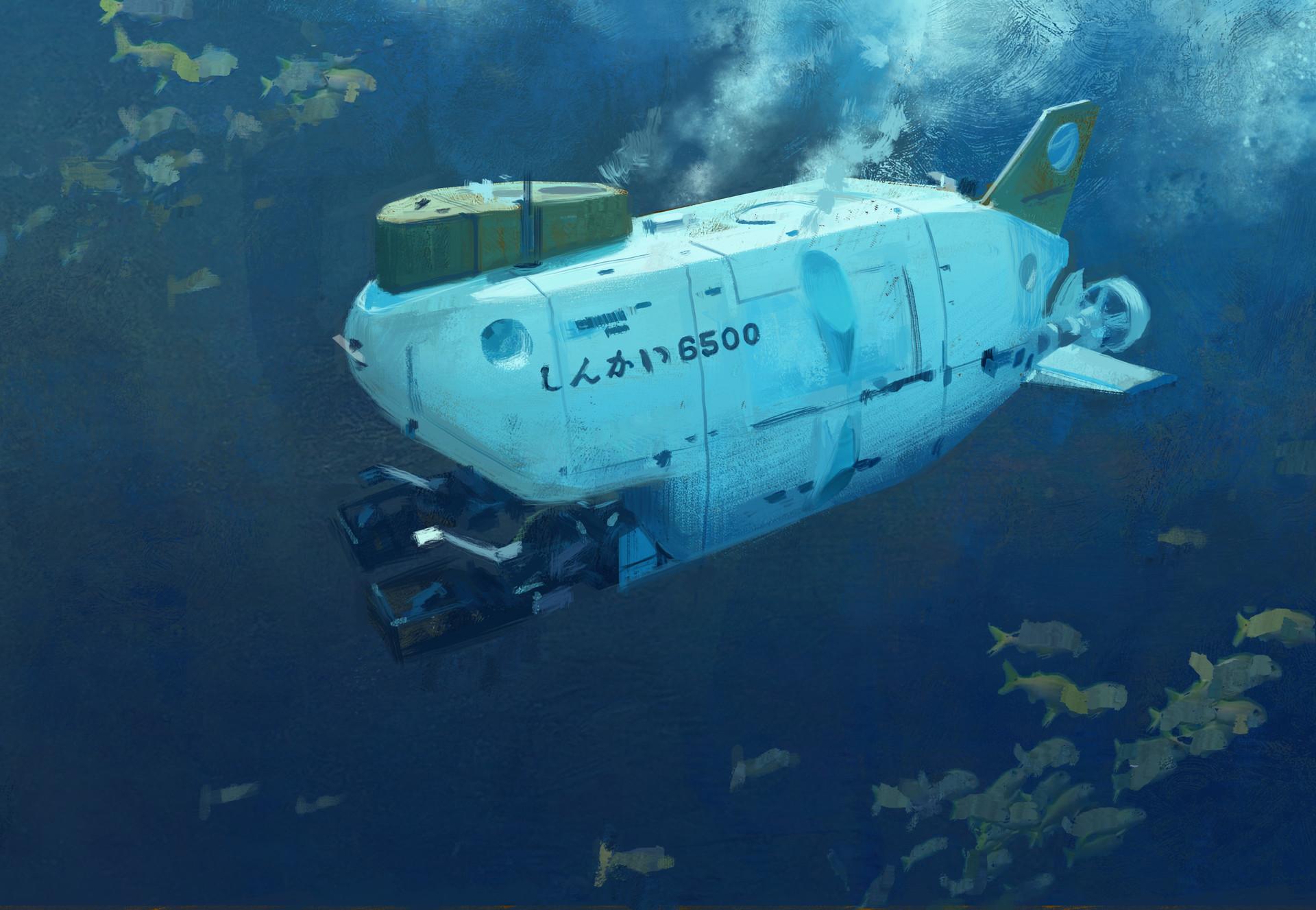 como dibujar submarinos
