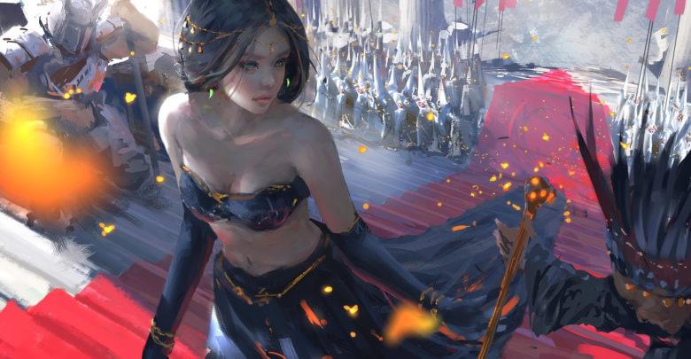 Tutoriales de Concept Art: Painting Process de Wang Ling