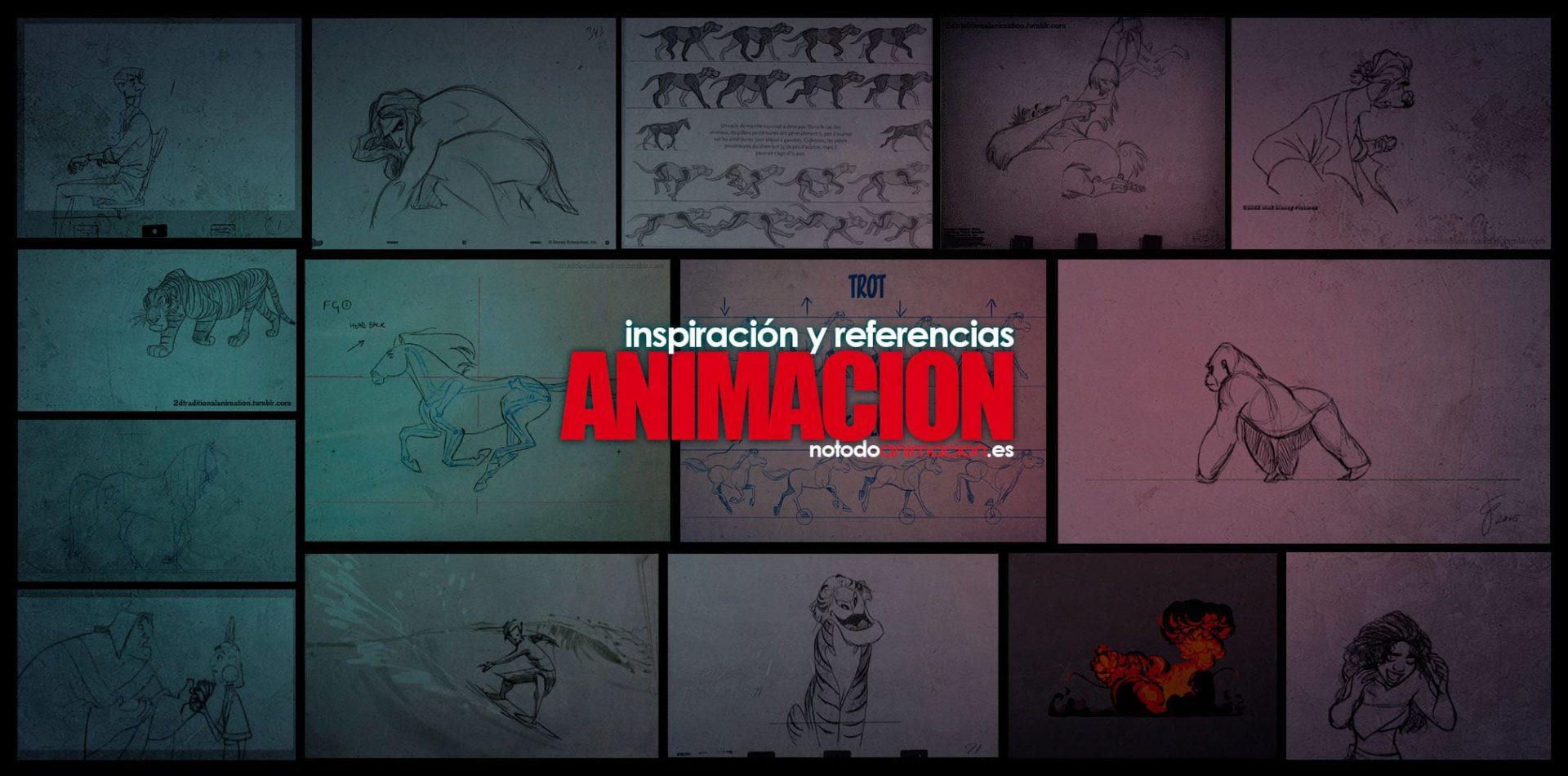 Inspiración y Referencias - Animación de Personajes, Animales y Efectos