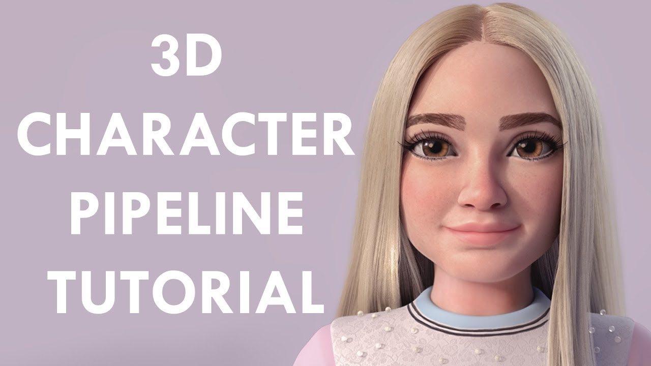 Tutorial 3D | creación de un personaje 3d para animación