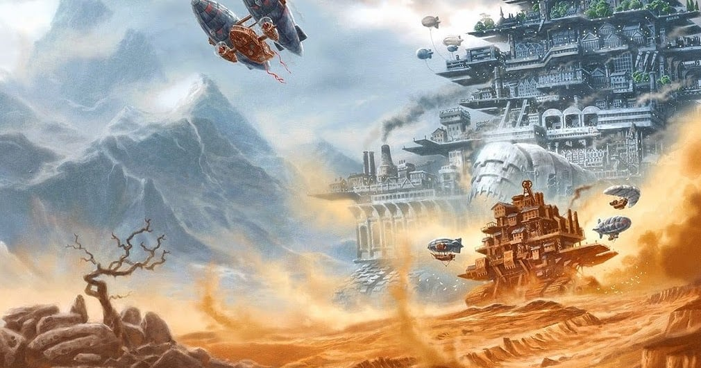 Mortal Engine-Estrenos-Concept art-cine-Película-CGI-VFX