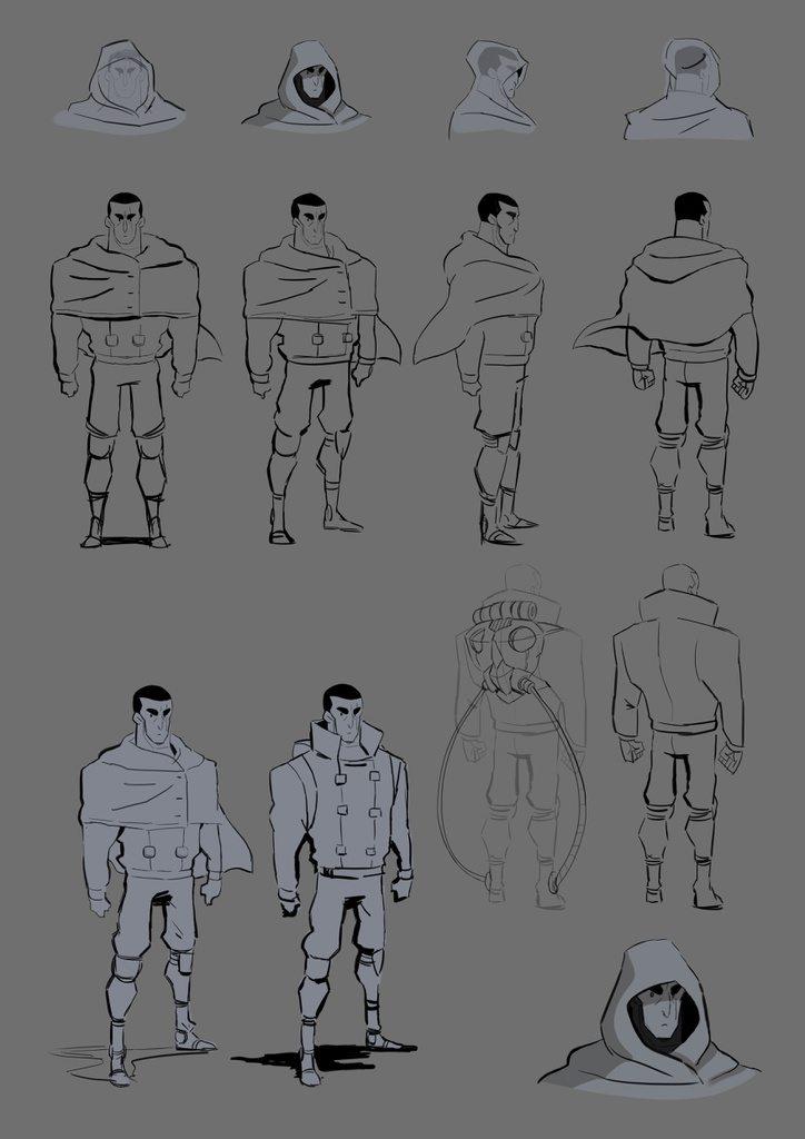 Cortometraje de Animación Hero - Desarrollo Visual & Making of