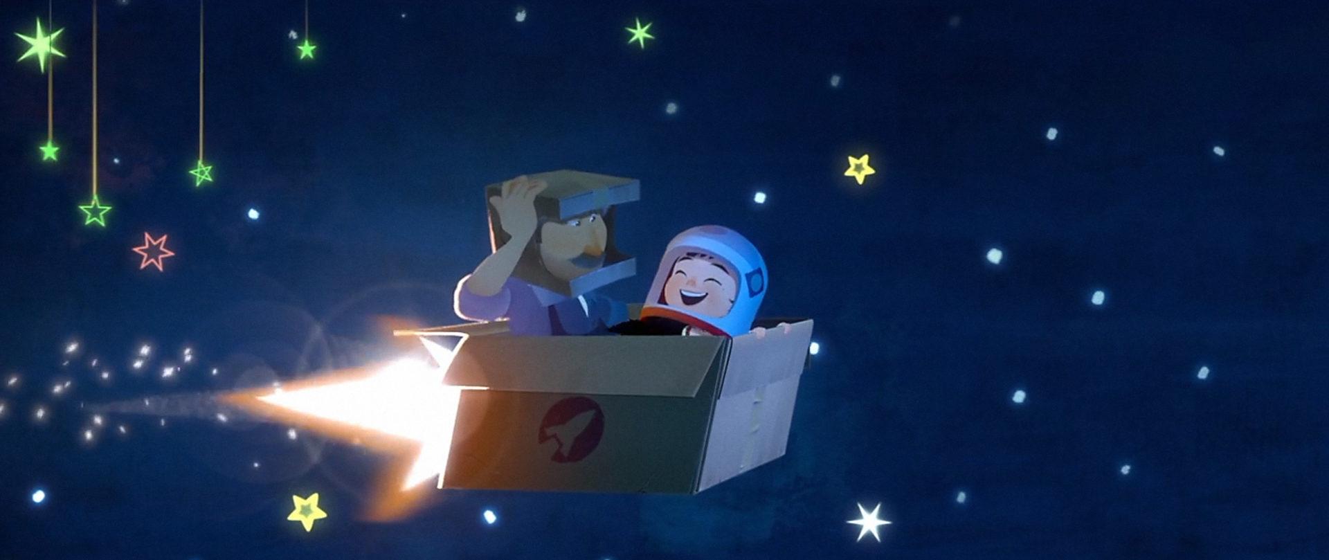 One Small Step animation short film - taiko studios