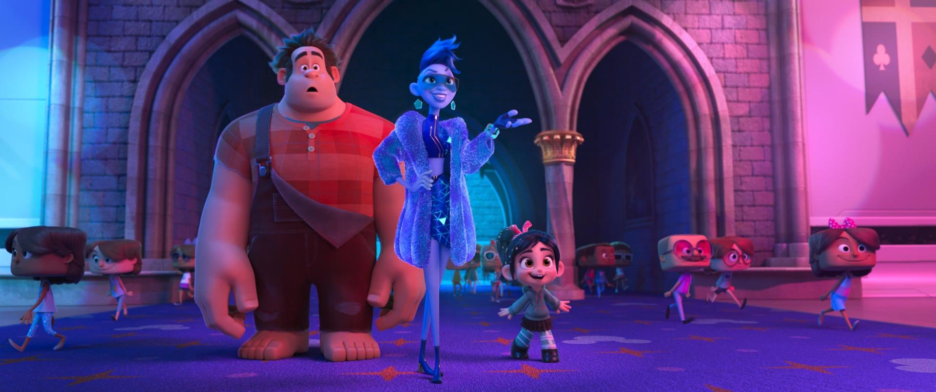 elículas de Animación 2018 (Disney - Pixar) - Ralph rompe Internet