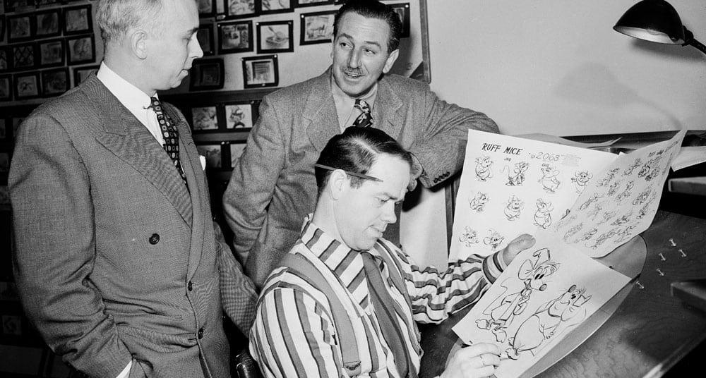 los 12 principios de la animacion - disney nine old men