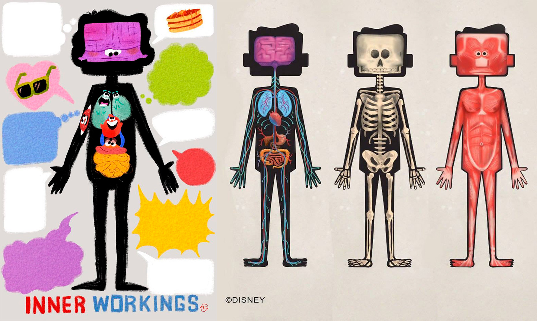 Inner workings cortometraje completo  diseño de personajes & concept art