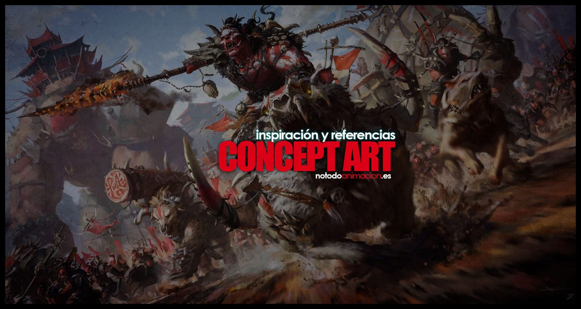 Inspiración y Referencias - Mas de 1.000 Ilustraciones y Concept Art videojuegos
