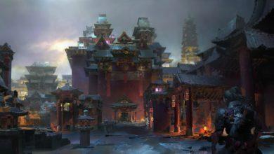 Ilustracion y Concept Art de Ruan Jia