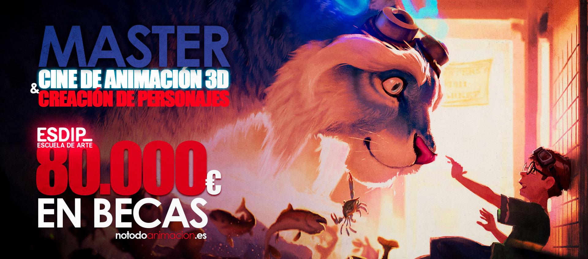 MASTER CINE DE ANIMACIÓN 3D Y CREACIÓN DE PERSONAJES – ESDIP