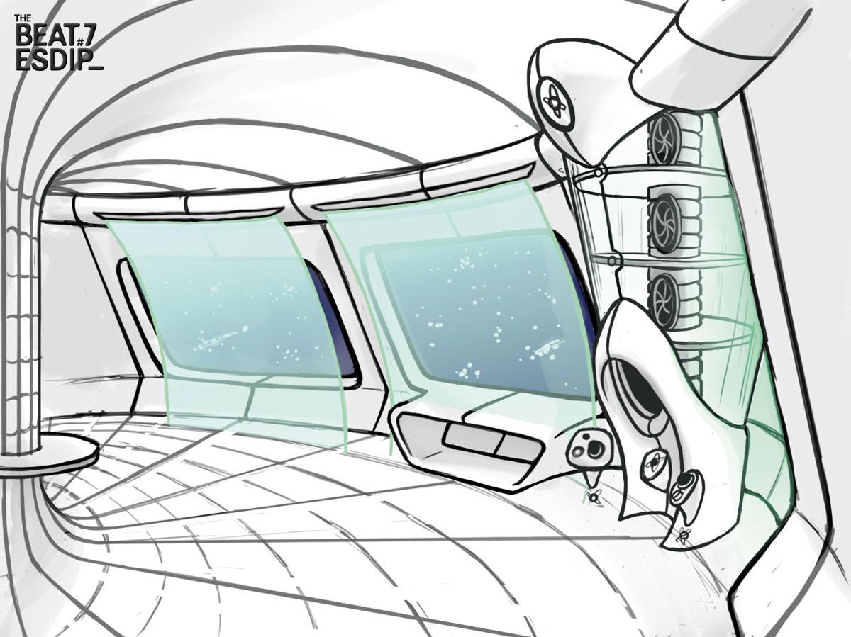 El Arte de Just The Beginning - Cortometraje de Animación, Breakdown y Making of