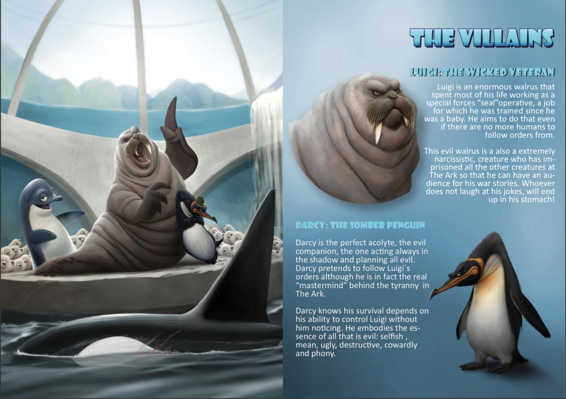Cómo hacer una Biblia de Animación Deep la película