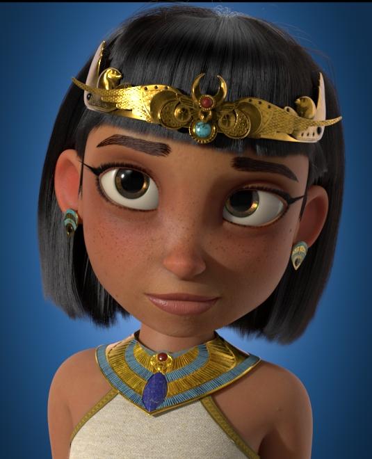 cortometraje de Animación- 3d-Pharaoh-diseño de personajes