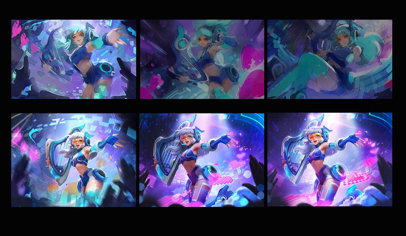 Dungeon Hunter Champions-Diseño de persojajes-Lasso-ilustración