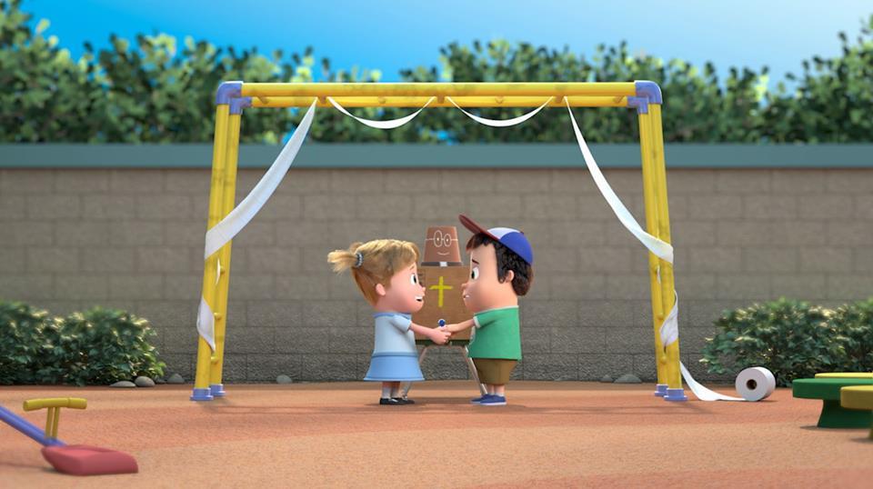First Comes Love-Cortometraje de animación-3d-Daniel Ceballos.