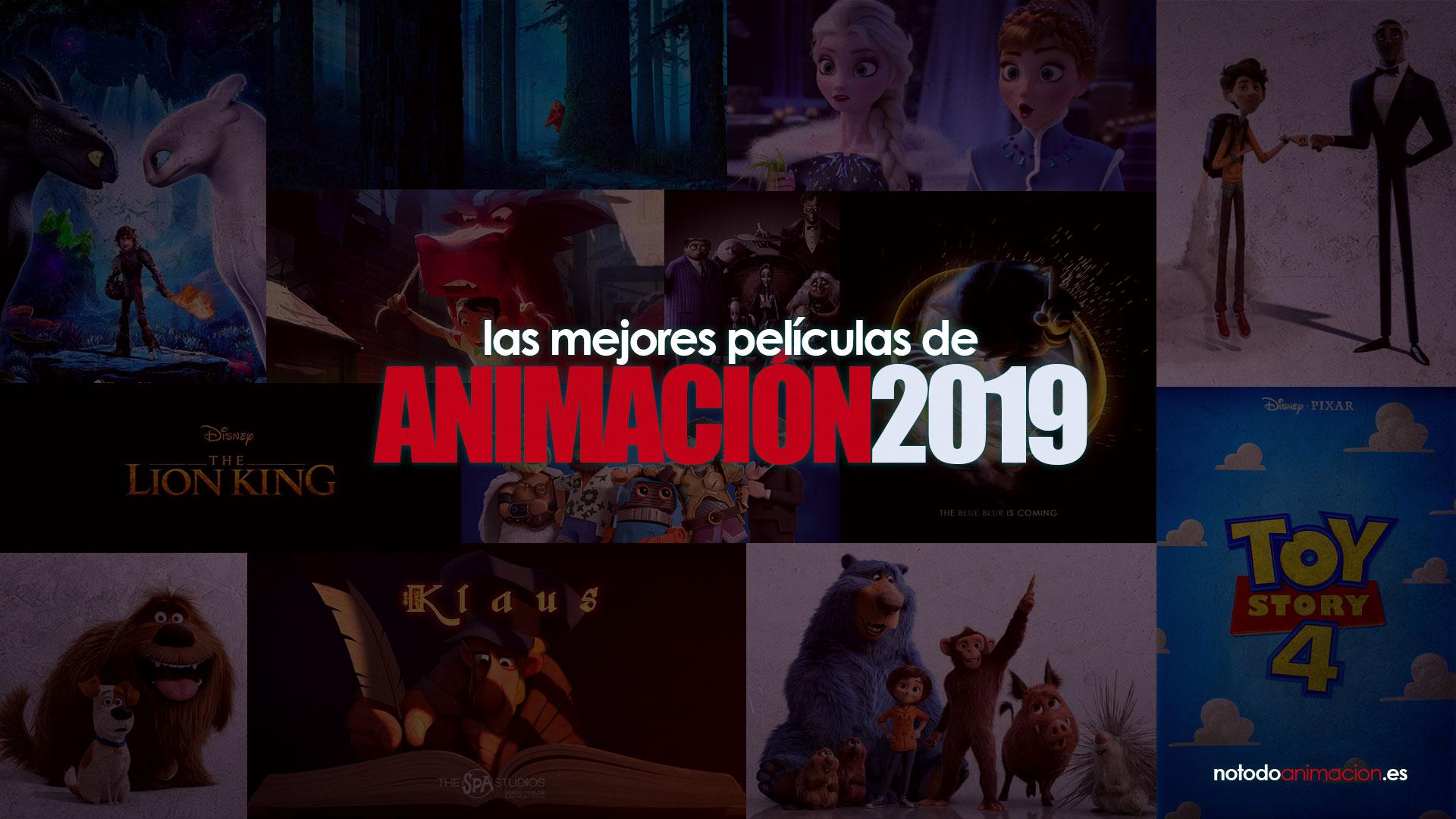 peliculas animacion 2019