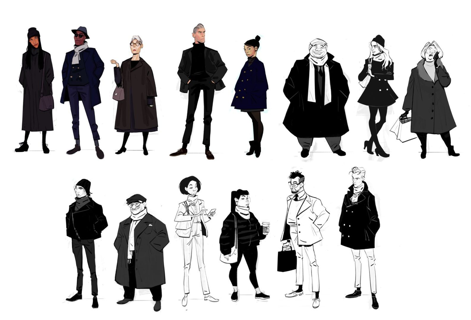 diseño personajes spider-verse Brittany Myers