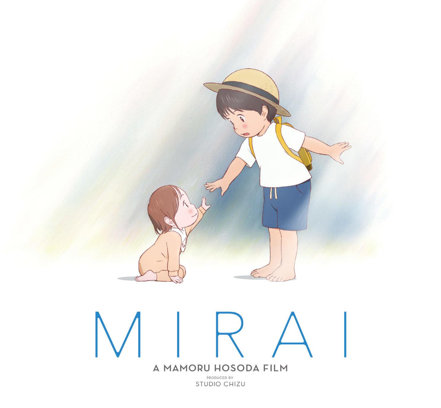 mirai estreno - película anime & manga