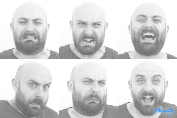 expresiones faciales animación