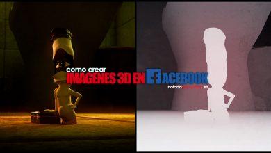 tutorial imágenes facebook 3d