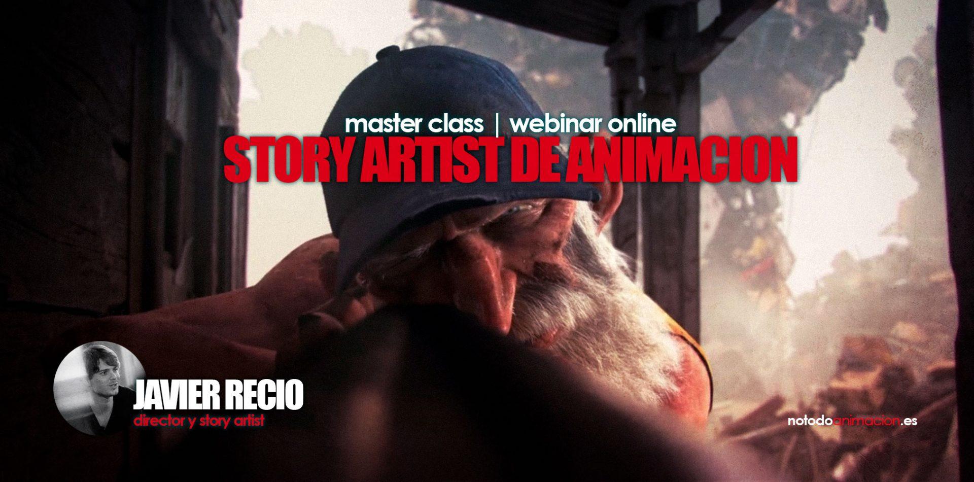webinar online storyboard