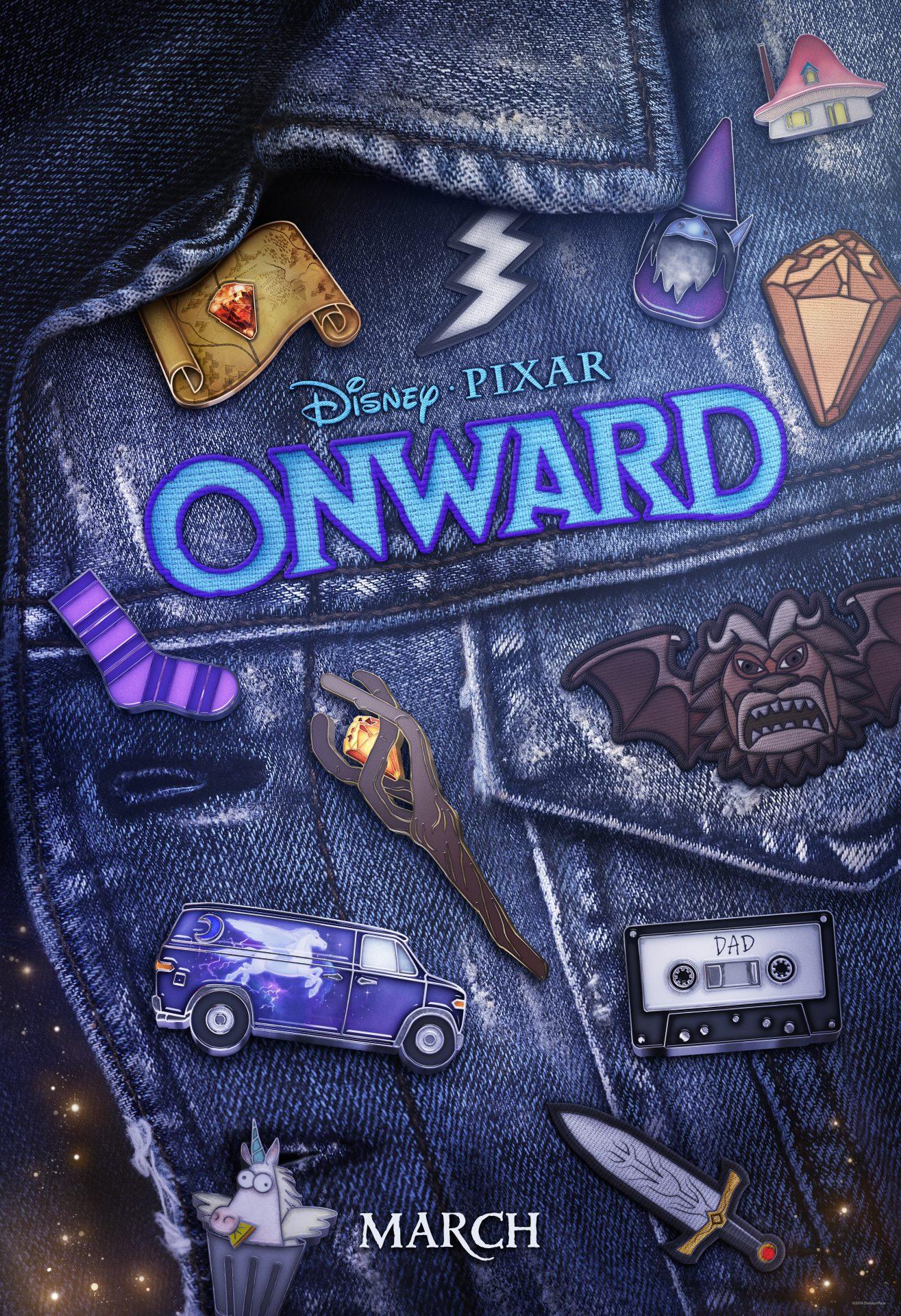 Onward (Disney·Pixar)   Trailer y Nuevas Imágenes