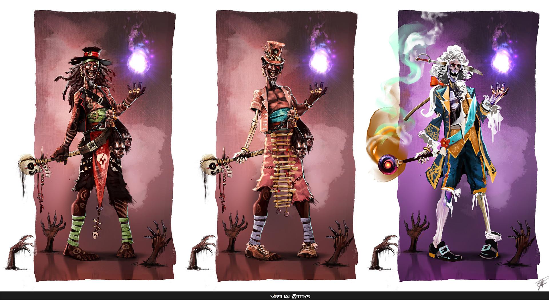 concept art para videojuegos
