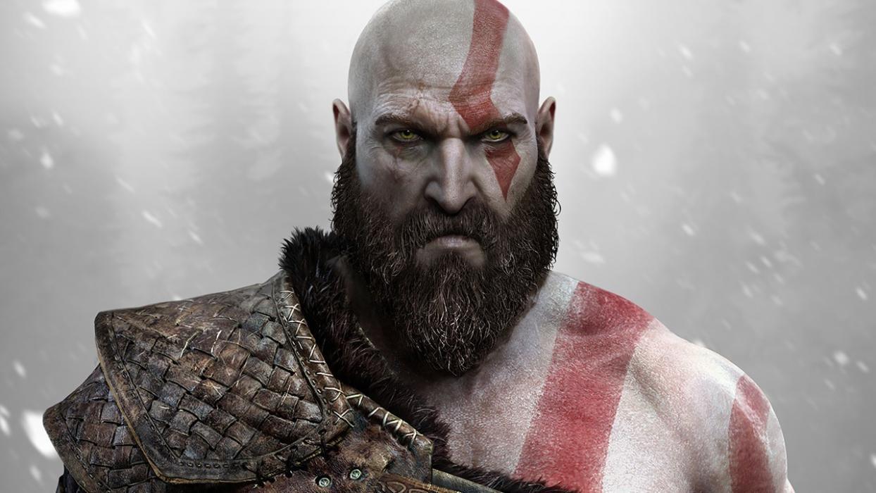 kratos character design