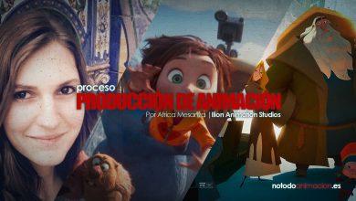 producción de animación