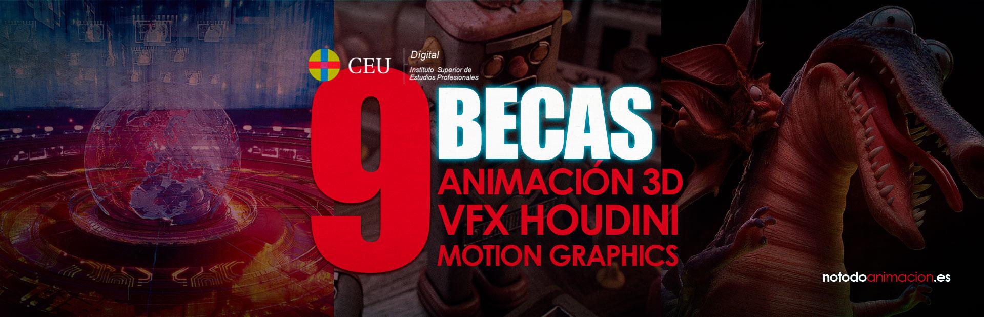 9 ÚNICAS BECAS para Estudiar Cine de Animación, Motion Graphics y VFX *SOLO HASTA EL 31 DE AGOSTO 2020