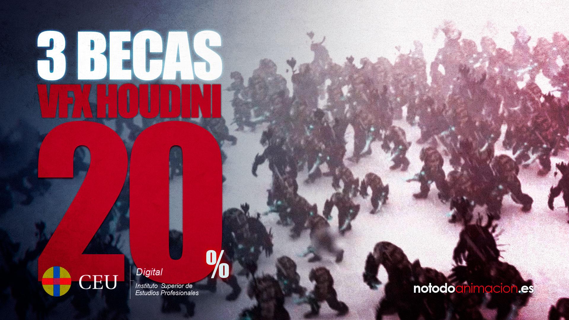 3 ÚNICAS BECAS para Máster profesional VFX en Houdini y Redshift ONLINE *SOLO HASTA EL 30 DE SEPTIEMBRE 2020