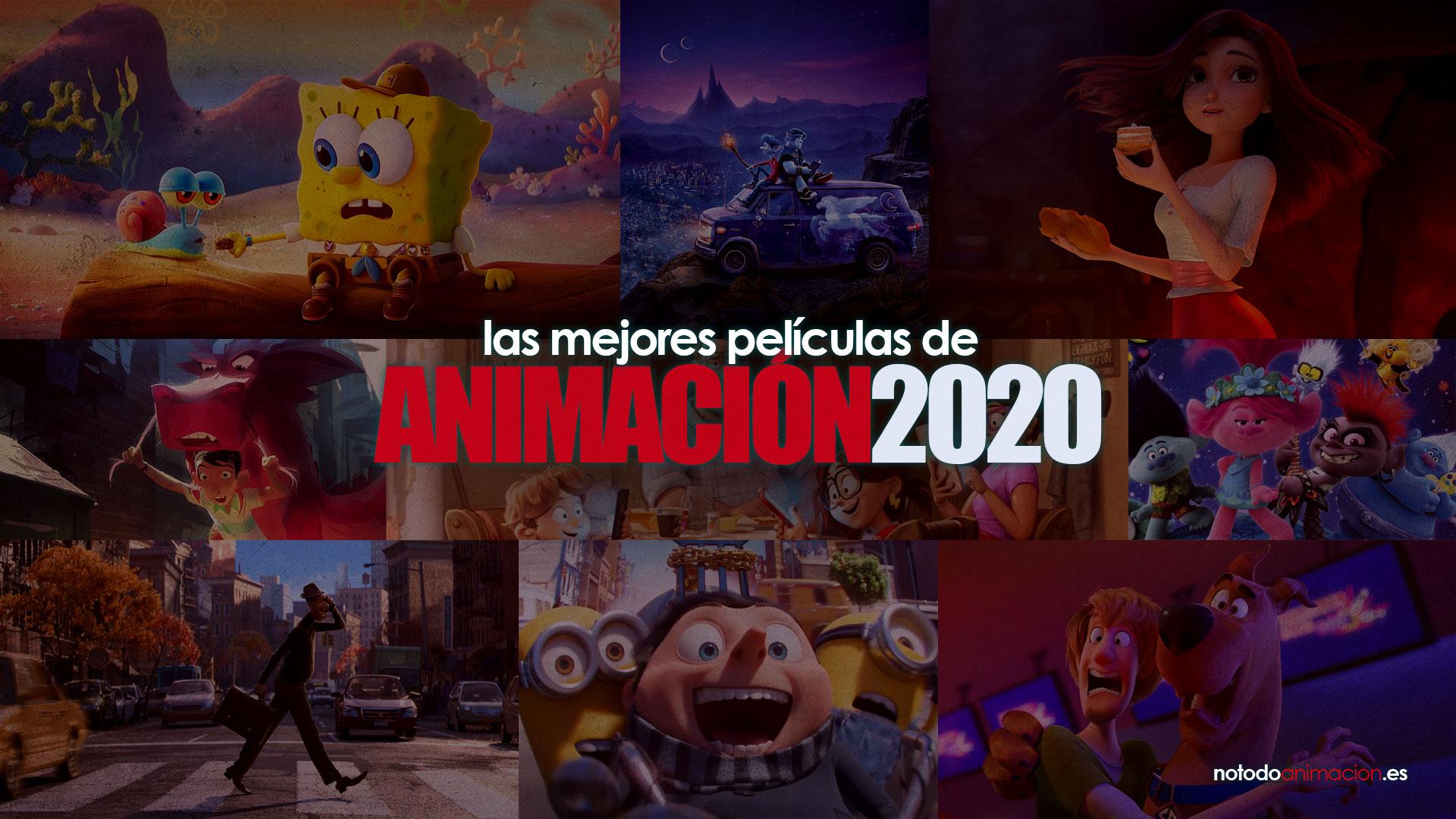 mejores películas animadas de 2020