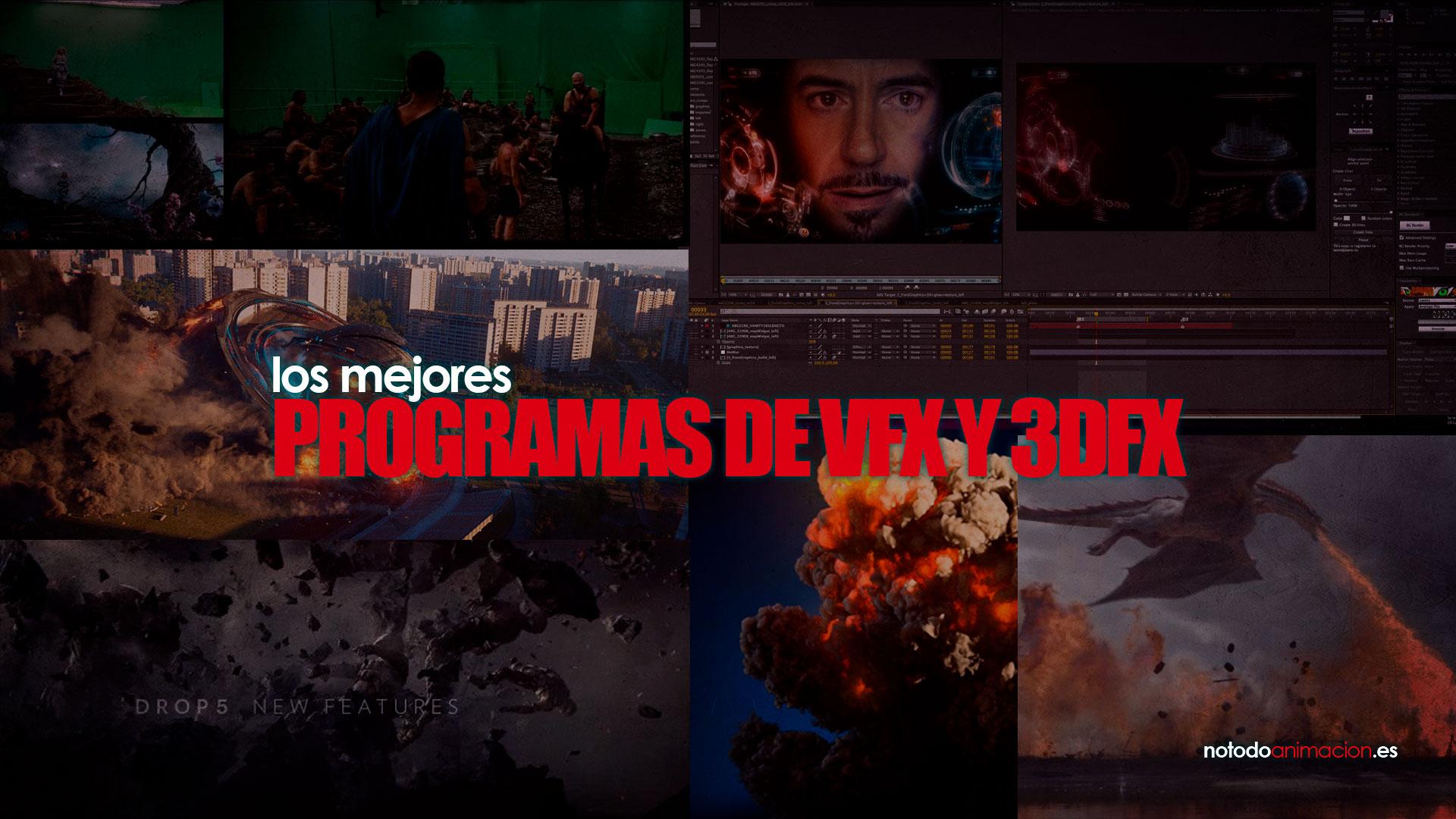 programas de VFX