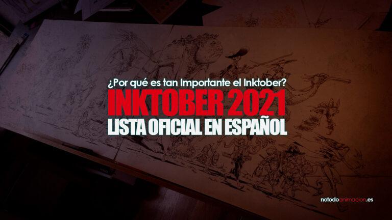 inktober 2021 lista oficial en español