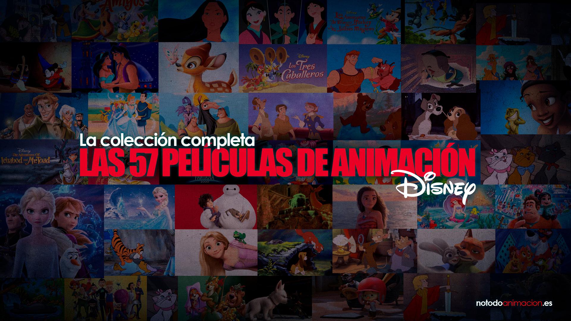 Películas de animacion - clásicos de Disney