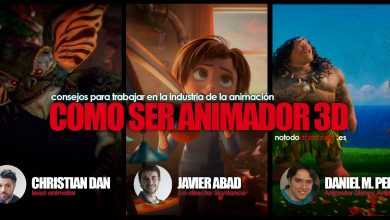 ser animador - trabajar en la industria de la animación