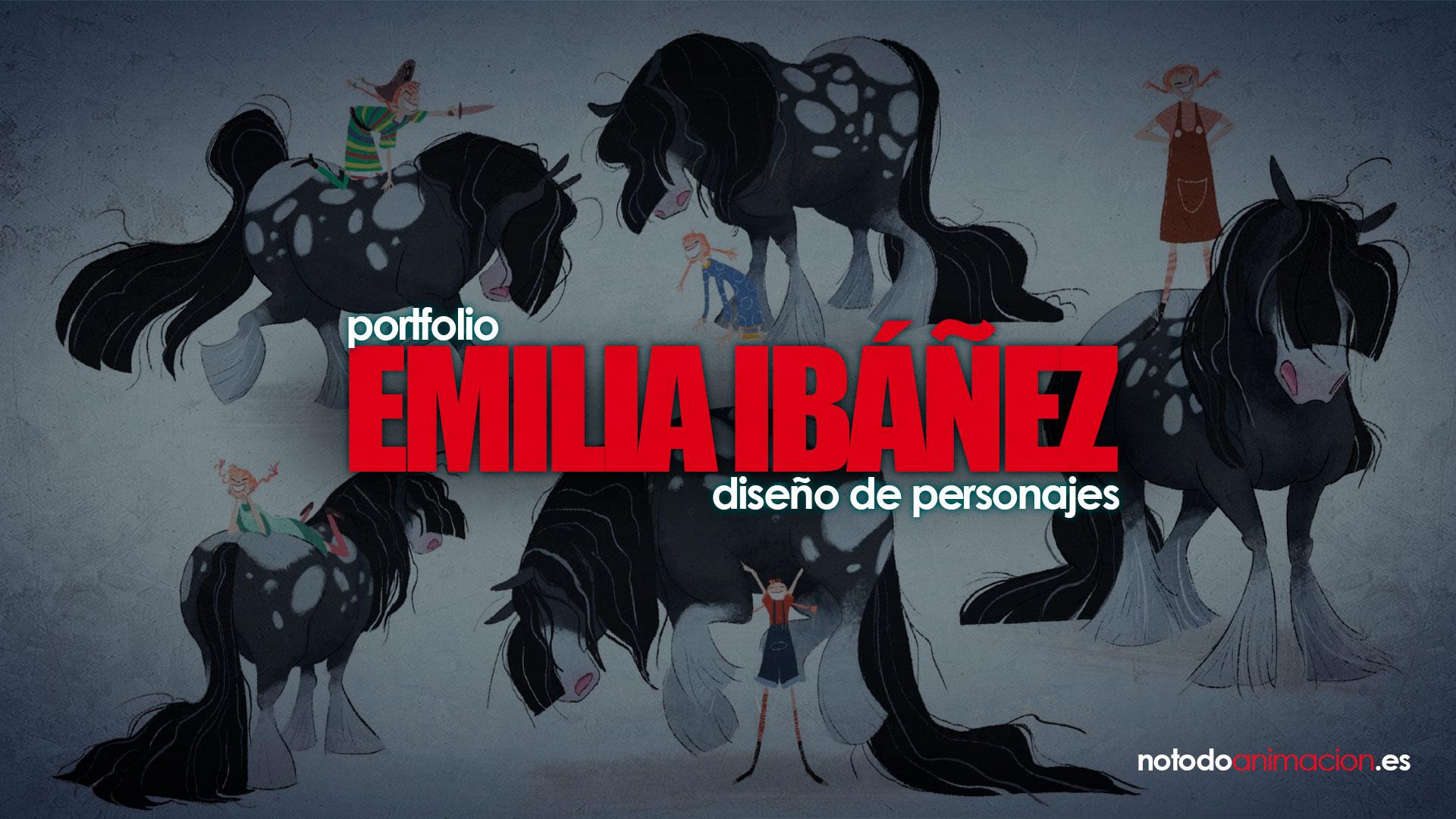 Portfolio diseño de personajes   Emilia Ibáñez
