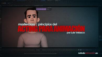 principios del acting para animación