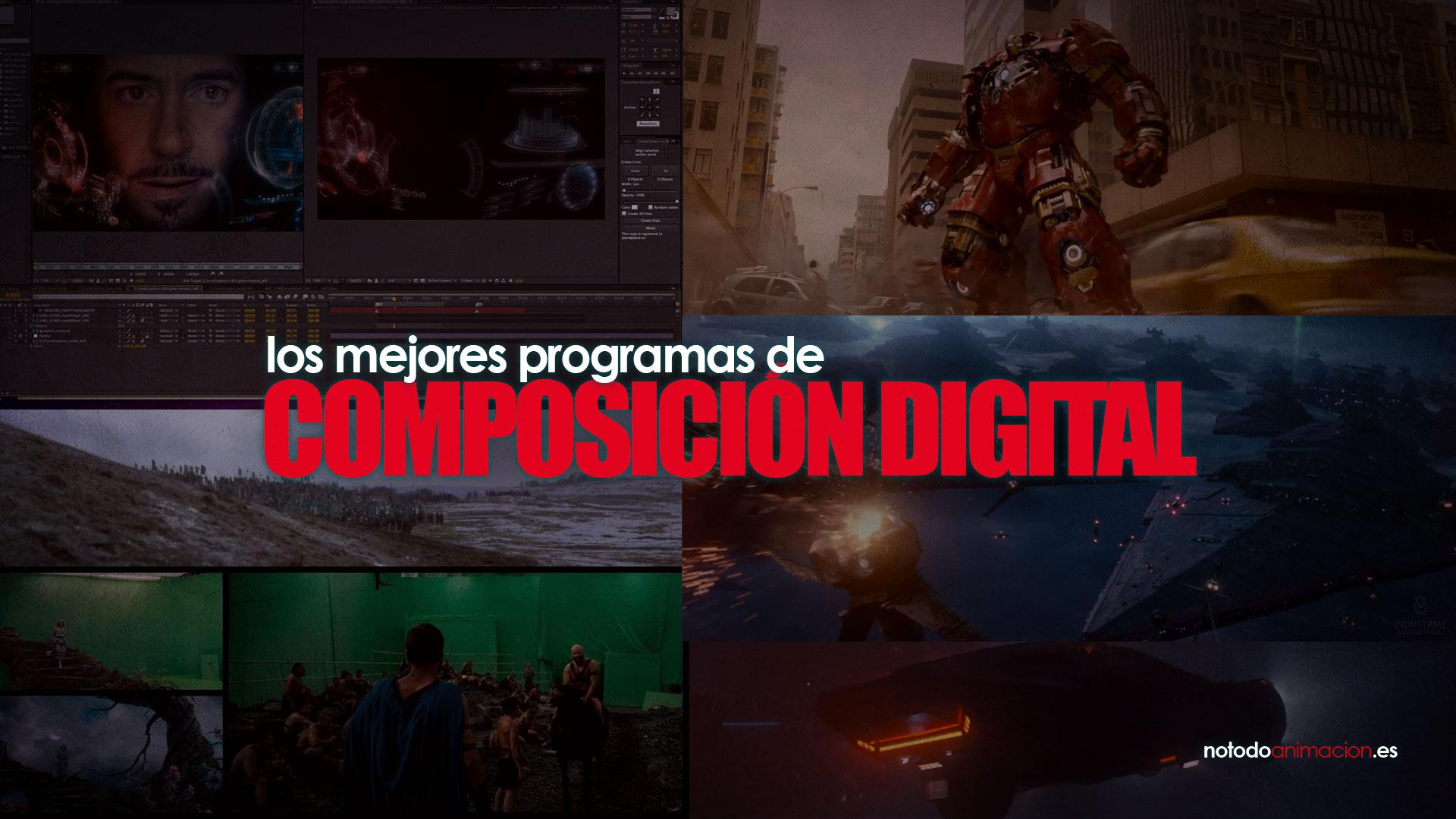 programas de composición VFX