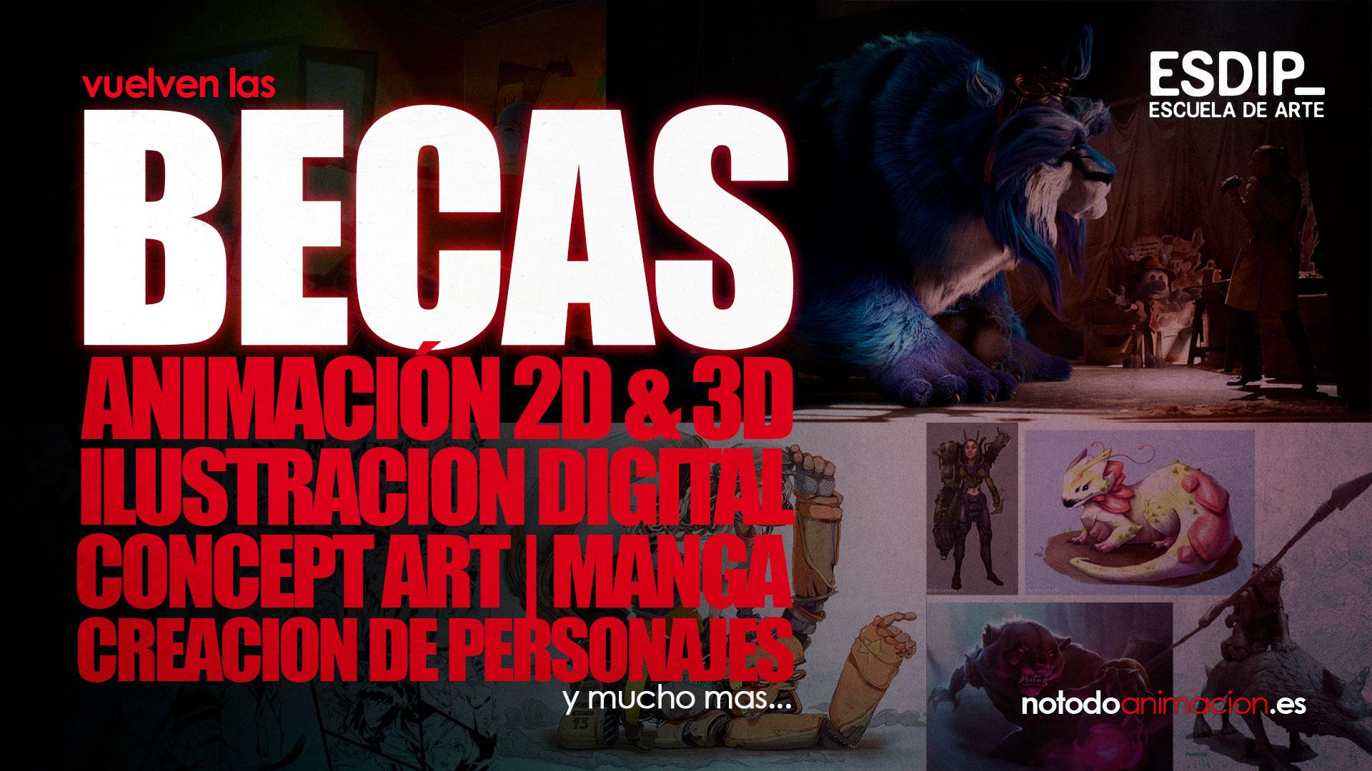 becas estudiar arte digital