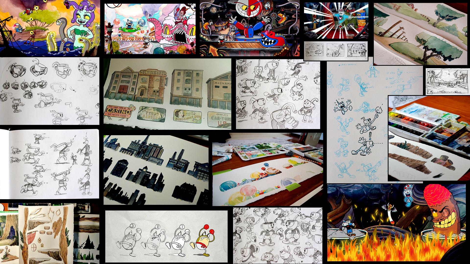 the art of cuphead artbook