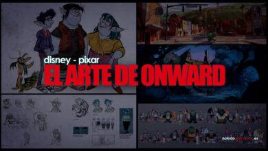 EL ARTE DE ONWARD DISNEY PIXAR