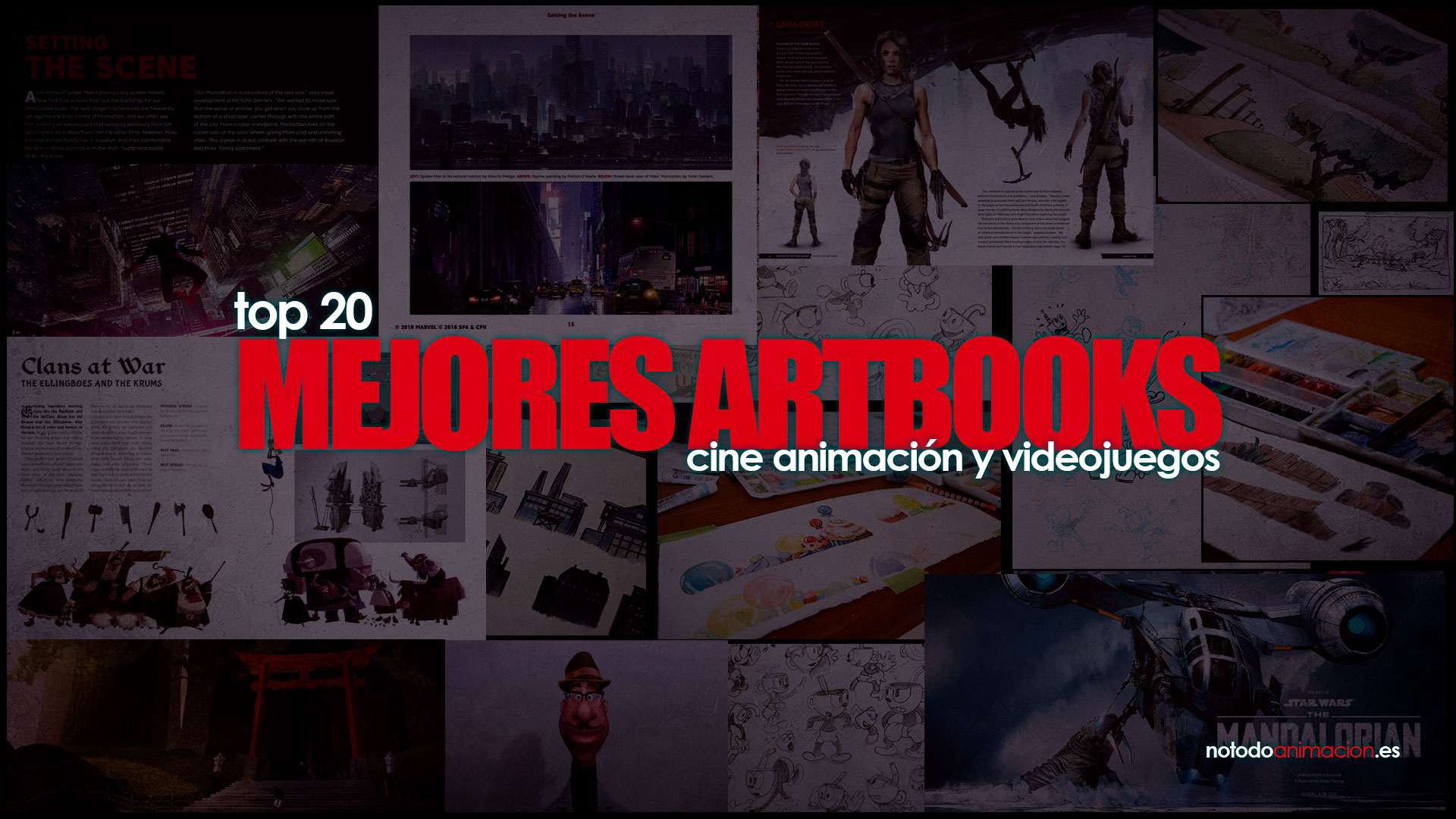 los mejores art books videojuegos y animación
