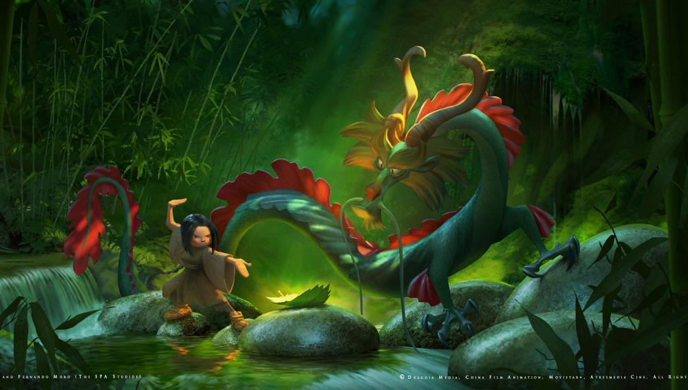 película de animación dragon keeper