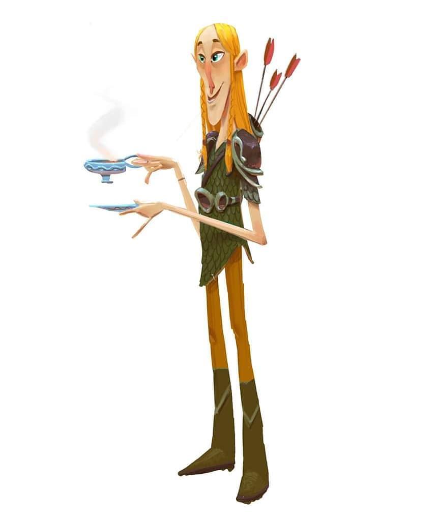 Diseño de personaje. Álvaro Ramirez