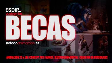 cursos Animación 2d, Animación 3d, Creación de personajes y color digital,Concept art para videojuegos,Ilustración yManga