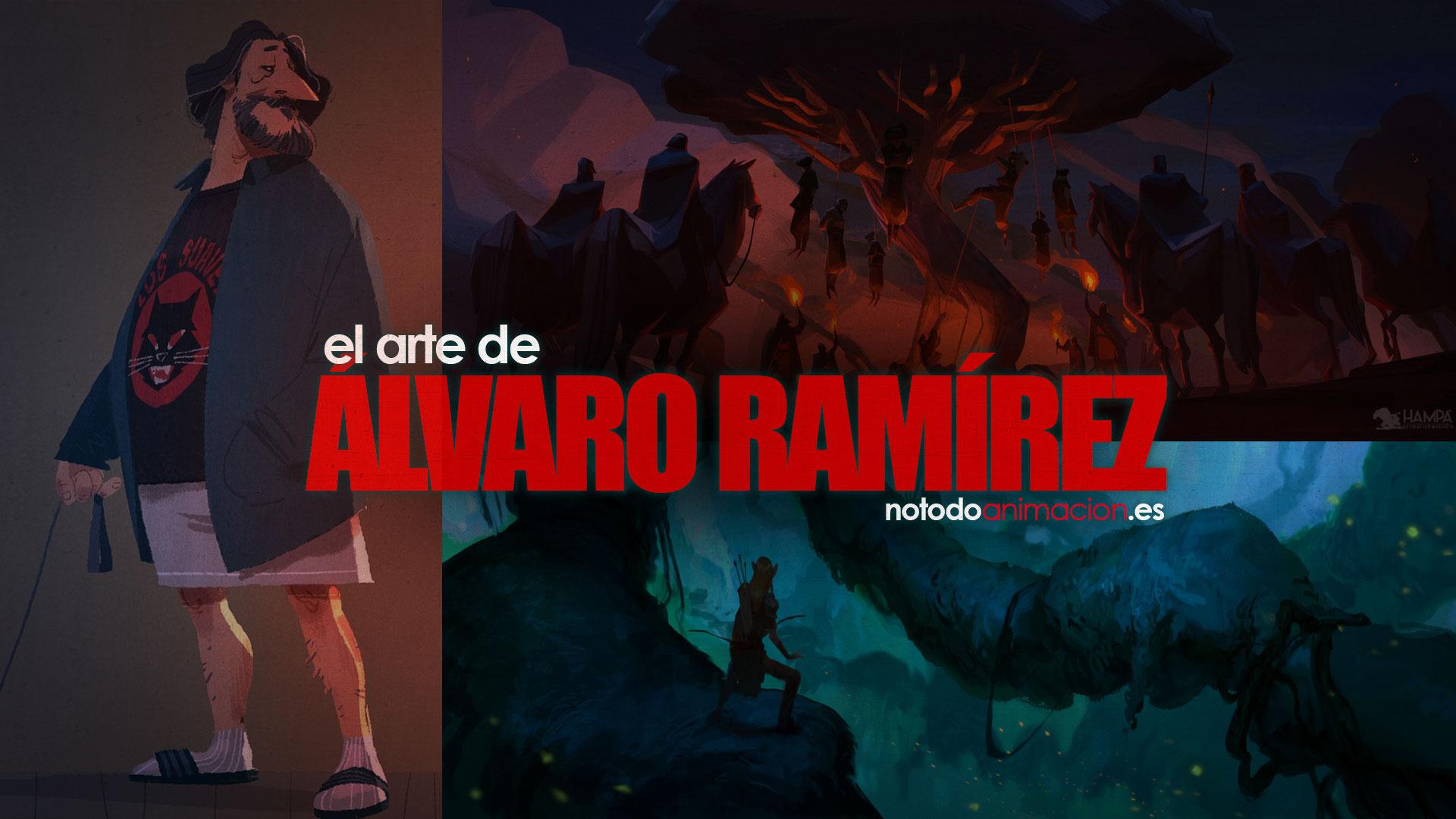 El arte de Álvaro Ramírez concept art desarrollo visual