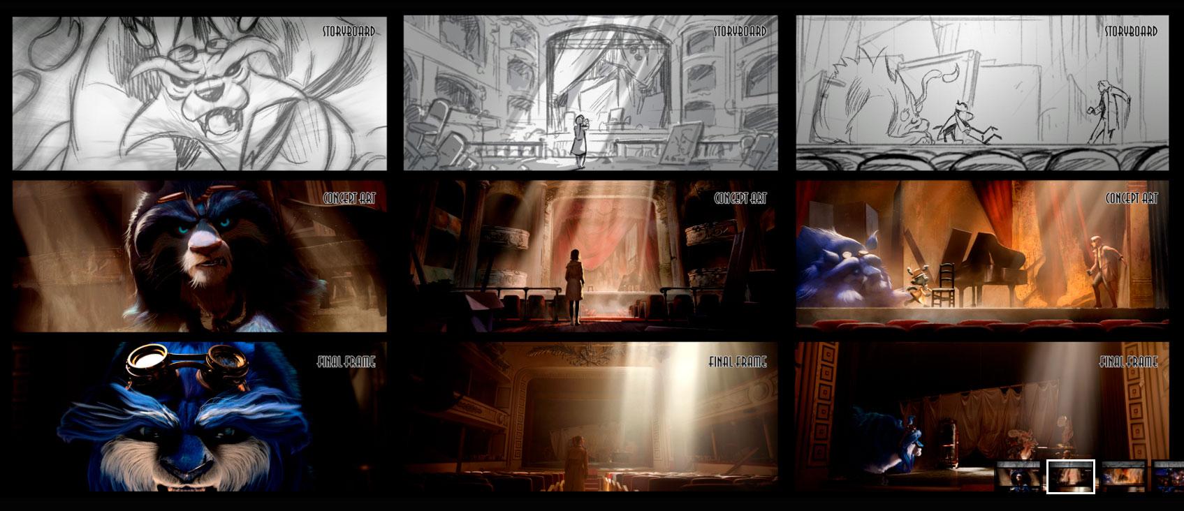 storyboard de animación