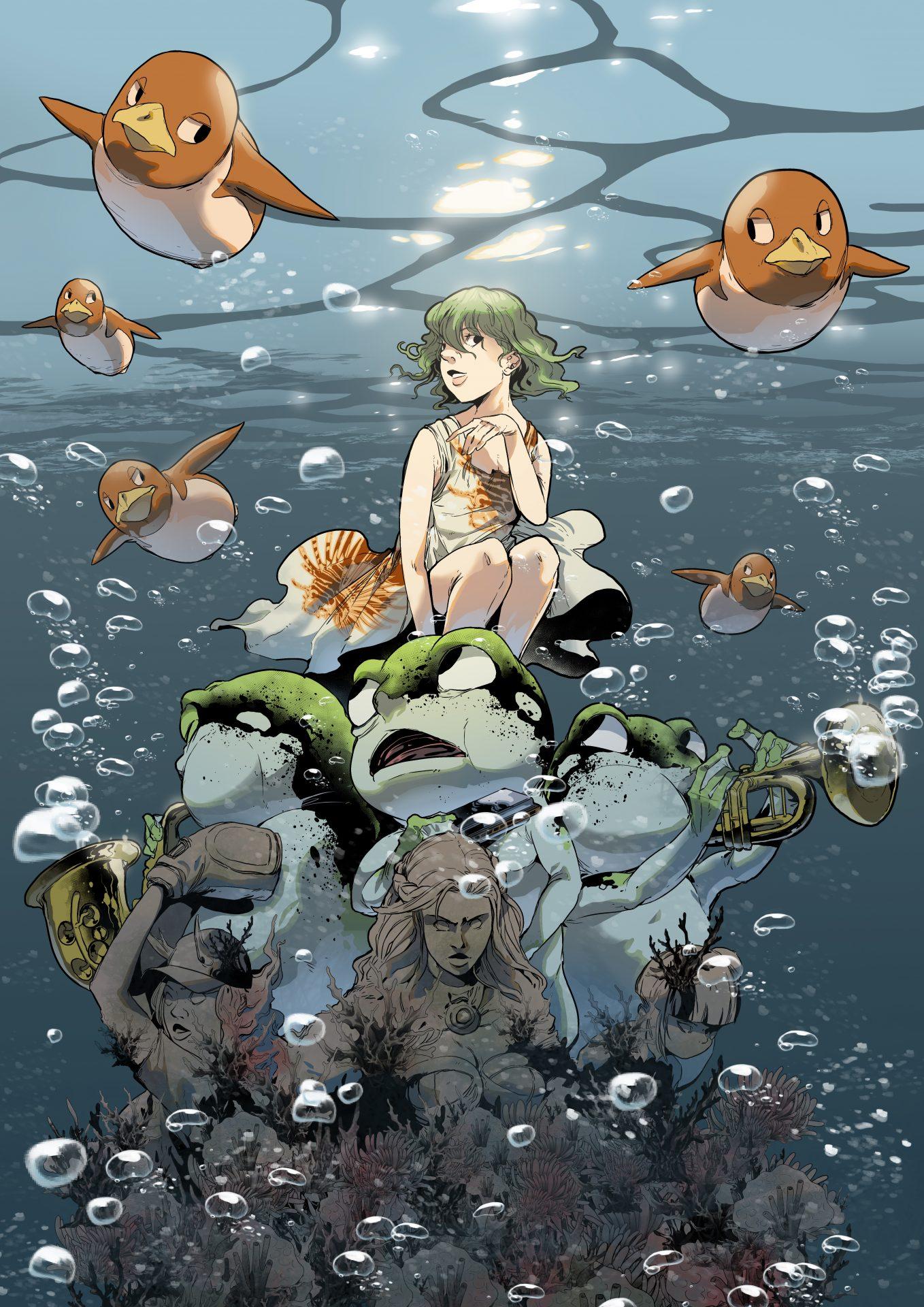Ilustrador y Dibujante Manga